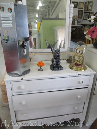 thrift store antique dresser