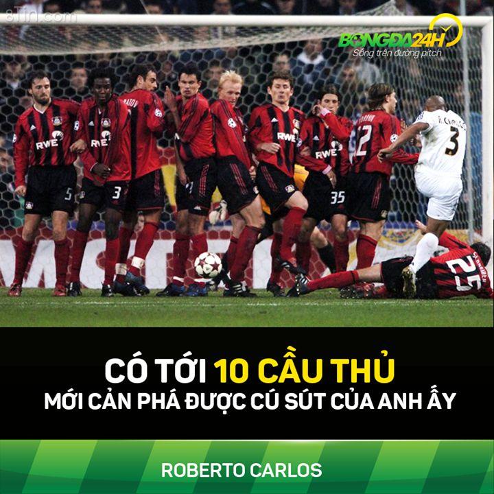 Đơn giản vì anh ấy là Roberto Carlos (y)