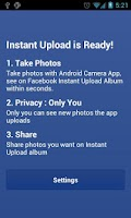 Screenshot of Photo Sync for Facebook