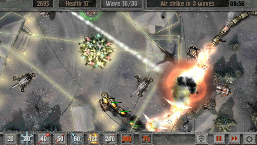 Defense zone 2 HD 1.2.0 Apk Game Download