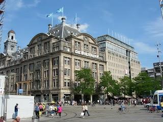 Magasin De Bijenkorf à Amsterdam