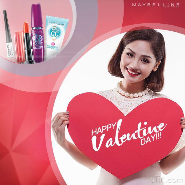 Chúc các cô gái Maybelline một mùa Tình Yêu thật ngọt ngào!