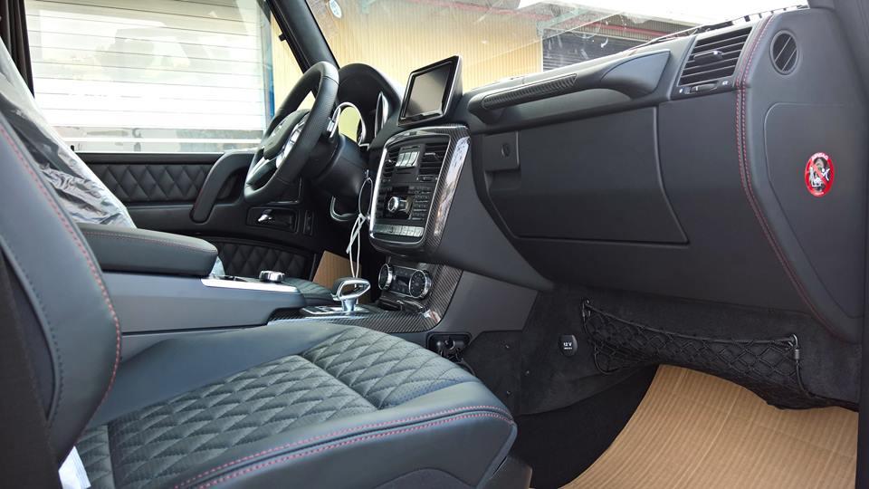 xe Mercedes Benz G63 AMG All New màu đỏ 011