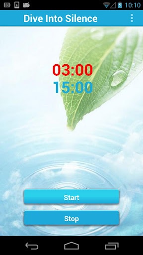 Dive Into Silence Timer