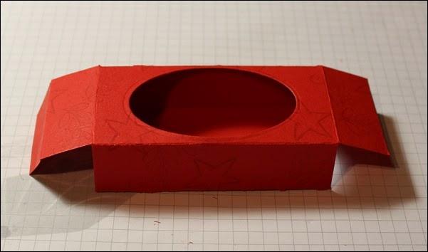 Teelichter Verpackung Schachtel Nikolaus Weihnachten Box selbstgemacht 8
