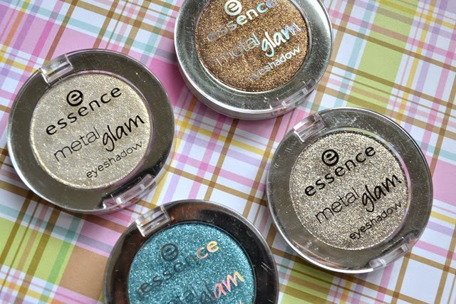 Essence Metal Glam Eyeshadows