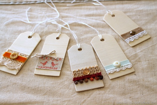 Embellished Wooden Tags via homework - carolynshomework (2)