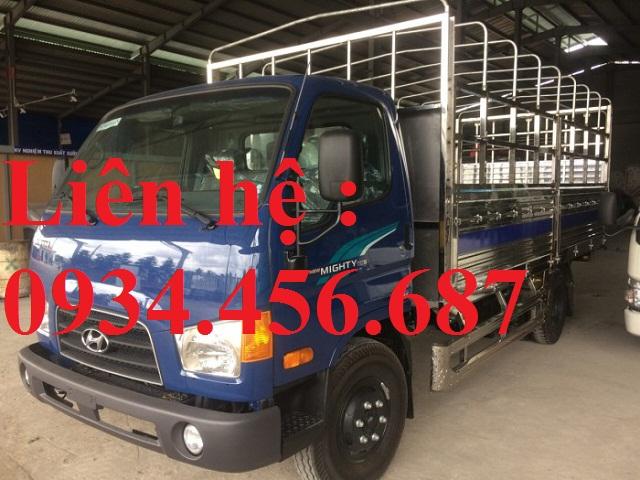 Bán xe 3.5 tấn nâng tải Hyundai 110s thùng bạt