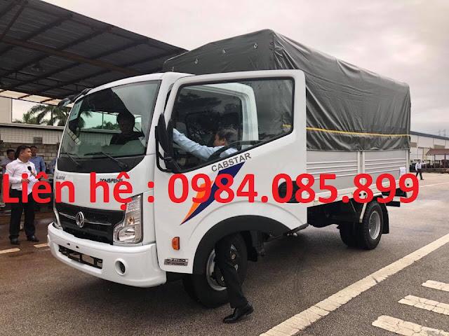 Bán xe tải NS350 Đồng Vàng 3.5 tấn thùng bạt