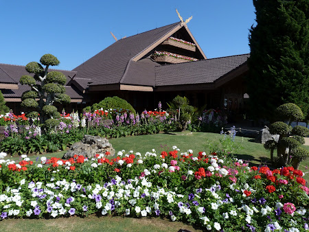 Obiective turistice THailanda: Palatul Regal Doi Tung