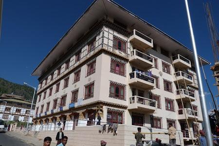 Bloc de locuinte bhutanez