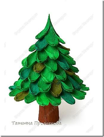 Manualidades Ninos Arbol De Navidad Papel Pinocho Crepe - Manualidades-arboles-de-navidad
