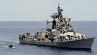 Indian Navy Wallpaper - Rajput-class Destroyer INS Ranvijay [D55] [Kashin-II class Destroyer]