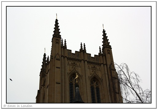 Tower at St Edmundsbury Cathedral