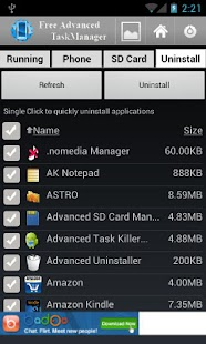 Free Advanced Task Manager- screenshot thumbnail