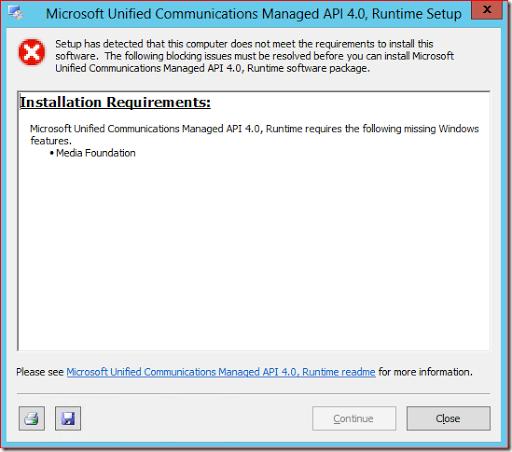 microsoft unified communications managed api 4.0