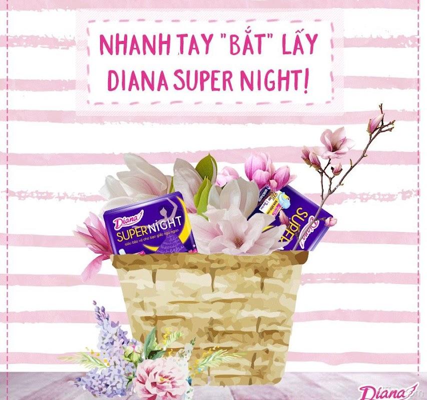 """Nhanh tay lẹ mắt """"bắt"""" 2 bạn Diana Super Night nghịch ngợm"""