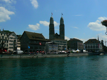 Obiective turistice Elvetia: Centru Zurich