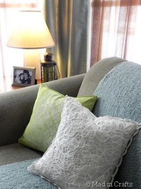Dollar Store Throw Pillows Mad In Crafts