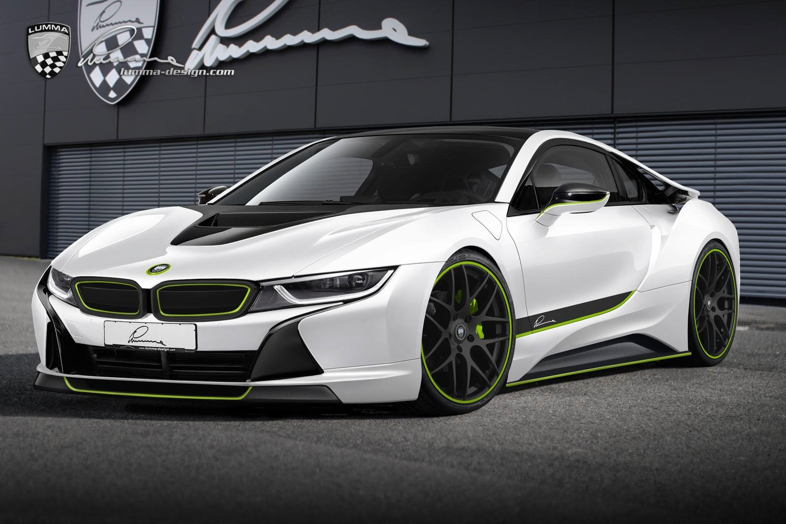 Lumma Design Draws Tuning Concepts For Bmw I8 Coupe And I3 Hatch