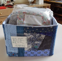 Blue Scrap box 2 RED