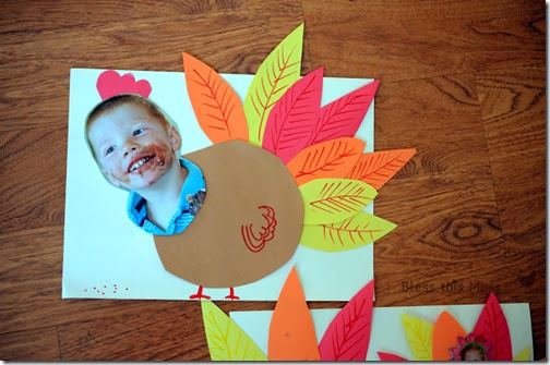 I'm a Turkey Preschool Turkey Craft for Kids
