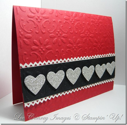 How to cut the doiley and brighton valentine card 016