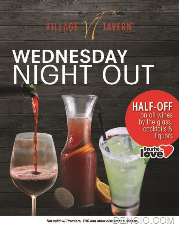 Village Tavern Manila Philippine Happy Hour Wednesday Night Out