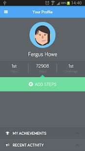 Active Staff Challenge screenshot