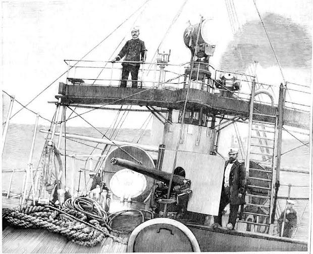 Detalle del puente de navegación y mando del DESTRUCTOR. De LA ILUSTRACION ESPAÑOLA Y AMERICANA, fecha indeterminada. Remitida por Nicholas W. Mitiuckov.jpg