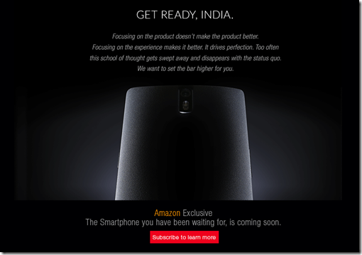 OnePlus One Amazon India