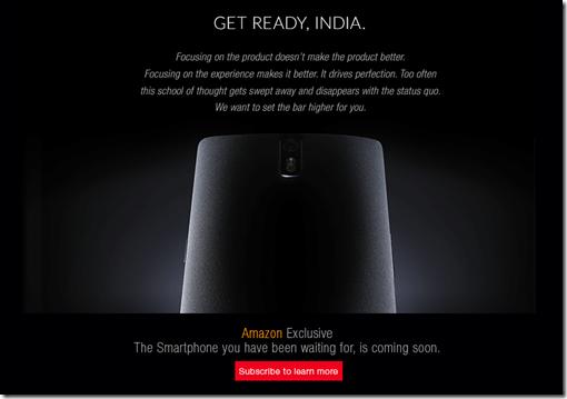 OnePlus One Amazon India