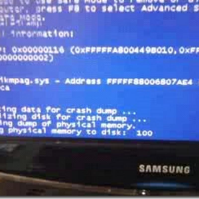 Tutorial: Como resolver a tela azul atikmdag.sys/atikmpag.sys