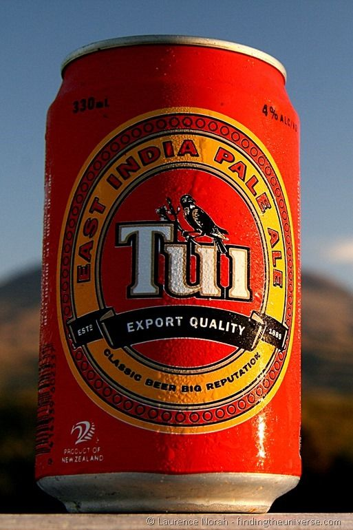 Can of Tui Beer