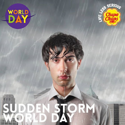 Yeah You Forgot the Umbrella day… fakeworldday