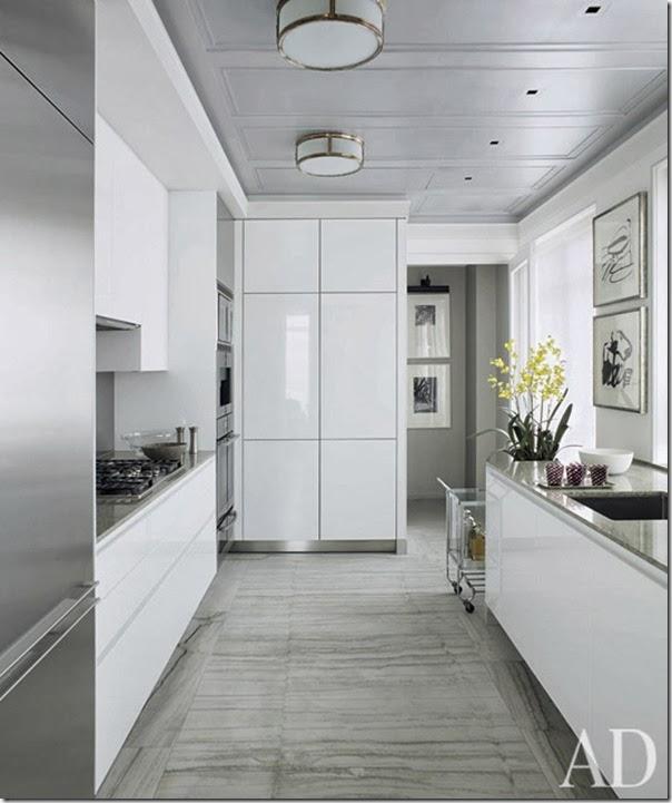 Uso del colore bianco case e interni for Grandi case cabinate
