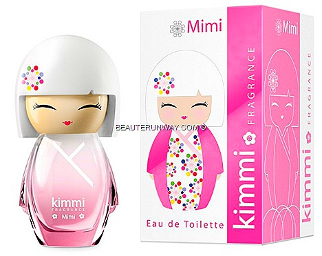 KIMMI PERFUME EDT 50ml DOLL FRAGRANCES MIMI  NIKI LILY KOTO PARFUMS FRANCE CUSTOM kimono SUMMER SEPHORA SINGAPORE ION ORCHARD BHG ALT base notes flora fruity, citrus refreshing yet sweet delicate scents playful fun dress stickers glass customise