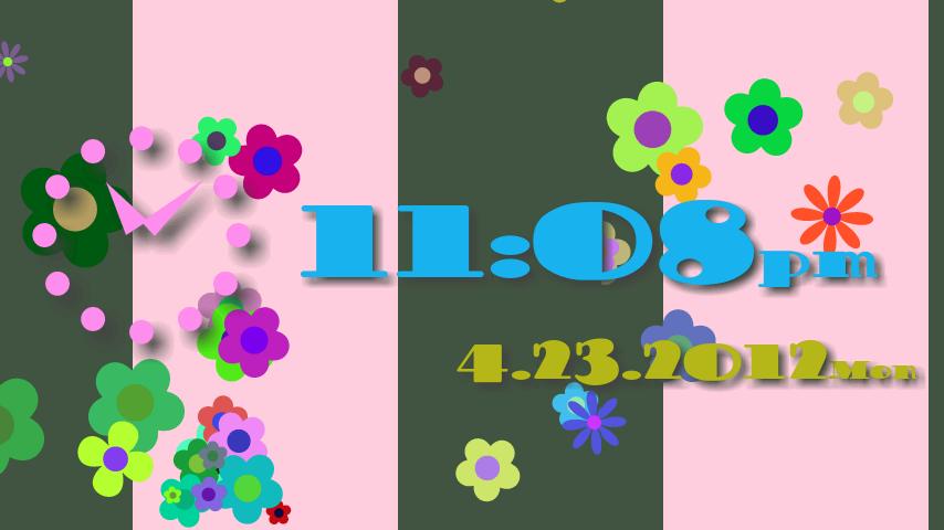Alarm Clock ! Flower Flow ! - screenshot