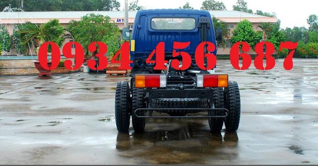 Giá xe 8 tấn nâng tải Đô Thành