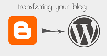 transfer blogger to wordpress