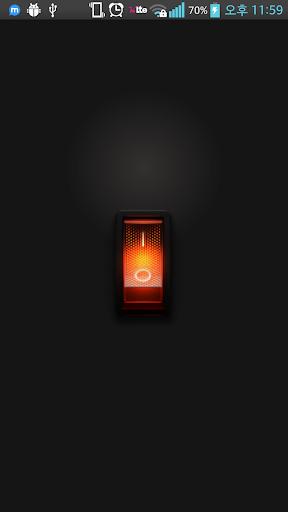 유인 손전등 - 플래시라이트