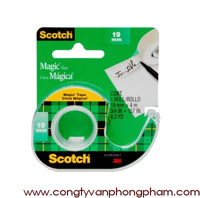 Băng keo Scotch® Magic™ 103-NA 19mm