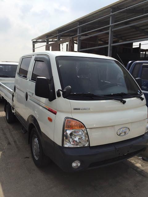 Xe tải 1 tấn cũ Hyundai cabin đôi