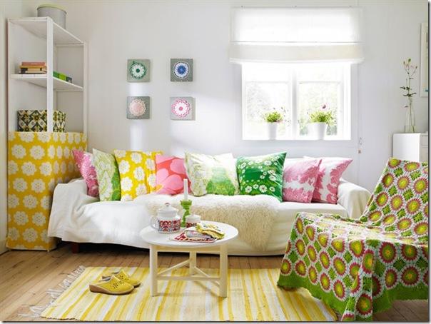 Piccoli spazi casa di vacanza in svezia 45 mq case e for Interni colorati casa