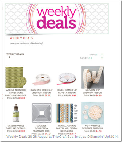 2014_08_20to29_Weekly Deals at The Craft Spa