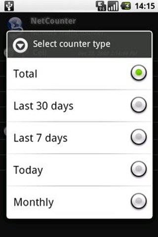 NetCounter- screenshot