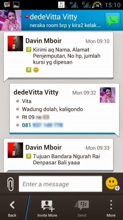 Pesan Travel Banyuwangi - Denpasar - Bali