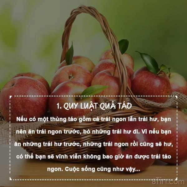 7 Quy Luật đơn giản của cuộc sống