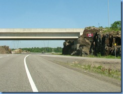 7678 Ontario Hwy 400 North - Canadian Flag