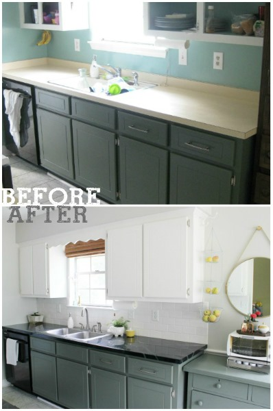 before & after - jjs kitchen